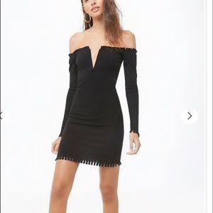 Dresses & Skirts - Off the Shoulder Mini Dress